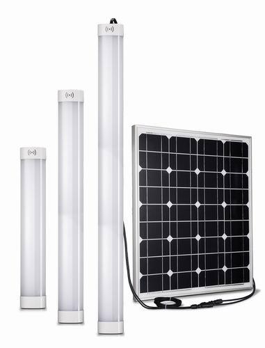 12W Solar Batten Light